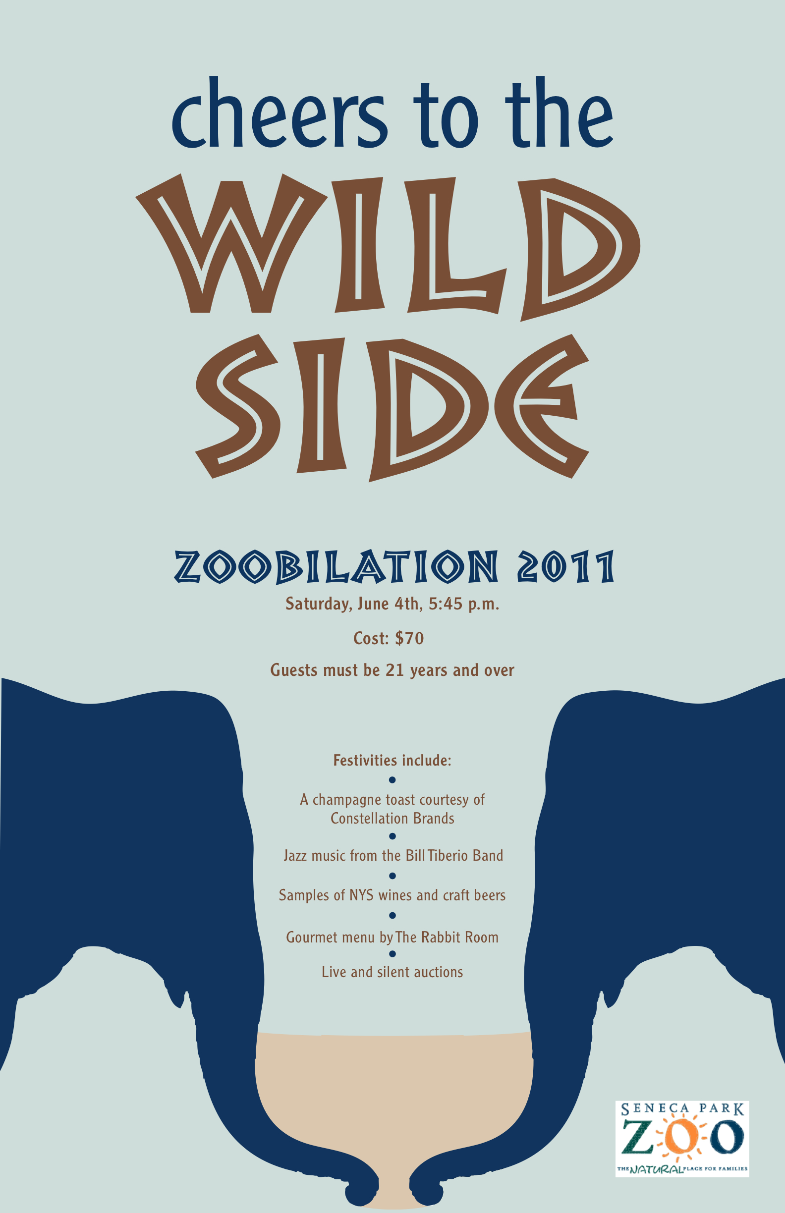 Zoo poster design - Zoo Poster Design Design Strategy I Chose A Relatively Upscale Benefit Gala Held At The